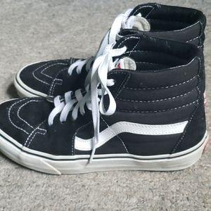 Black High Top Skate Vans